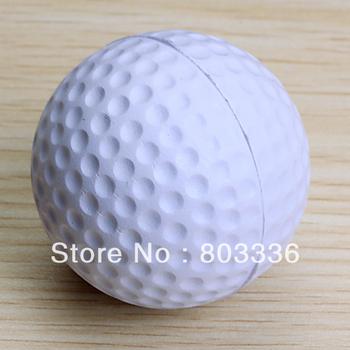 Free Shipping 5pcs PU Golf Ball Golf Training Soft Foam Balls Practice Ball - White