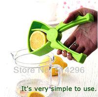 Free shipping,Leak Drip Orange Squeezer / Manual Lemon Juicer Fruit Tool with Handle #0224
