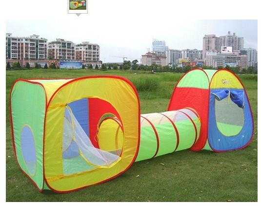 Novo design do túnel ~ crianças brincam tenda Crianças que dobram Game Room PLAYHOUSE frete grátis(China (Mainland))