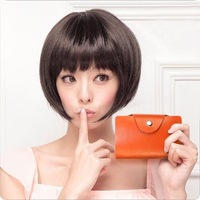 Han fashion card bag leather lady card bag cardcase man hide bank card credit card bagJD-806