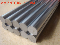 2pcs 16mm - L500mm chrome plated Cylinder Linear Rail Round Rod Shaft Optical Axis for CNC XYZ(China (Mainland))