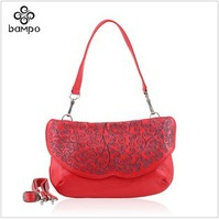 new national air original design Ms. grade leather embroidered bags