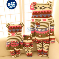 CRAFTaccent ,ancient ways,L size bears household pillow Stuffed plush baby dolls toys,Factroy wholesale