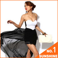 Free Shipping Dress 2013 New Arrival! Sexy Corset Chiffon Holiday Sale  AYK01