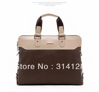 New leather men handbag Business briefcase computer bag shoulder bag leather man bag Korean