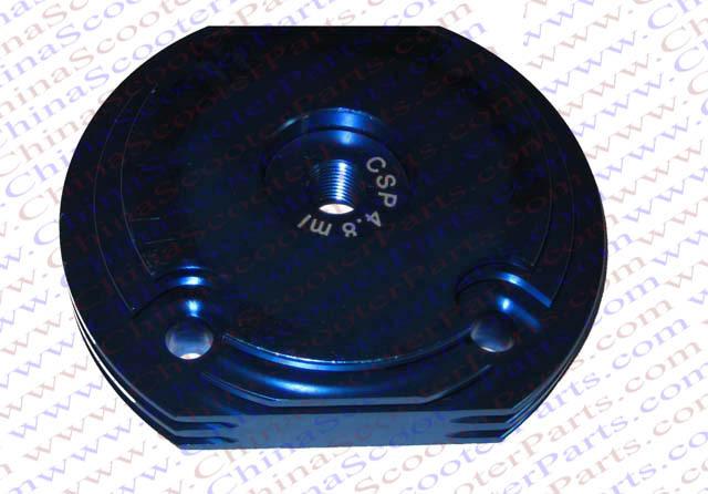 Performance 44MM CNC Cylinder Head Blue 47CC 49CC Mini Dirt Pit Bike Parts(China (Mainland))