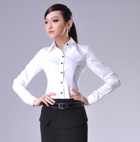 2013 spring ol women's long-sleeve shirt simple elegant simple elegant 2040