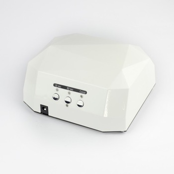 White Professional 12W  CCFL  UV Nail art phototherapy Lamp Nail Polish Dryer Curing Light  Home / Salon 110V - 220V