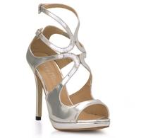 2014 Star style lady pumps high heel sandals wedding dress shoes for women dress O64OA-5a evening sandals