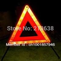 automotive triangular warning signs/warning triangle/reflecting warning triangle