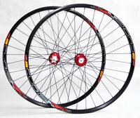 free shipping !cube MTB bike 29er wheels  six nials two bearings/black/