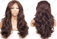 Fashion styling #4 color synthetic lace front wig