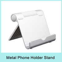 Aluminum stand holder metal Tablet Mount for IPhone 5 Galaxy S3 iPad mini samsung Note 2 N7100 HTC One