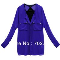 Женская футболка Off The Shoulder Long Sleeve Sexy Cotton Striped Top K086
