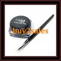 Waterproof Eyeliner Black Color Eyeliner Gel With Free Pencil Quality Inspection In Stock Shipment At Soon Support Wholesale