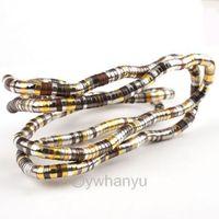 3pcs Wholesale 90cm Bendy Snake Chains Flexible Necklace Bracelet Pick Color