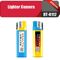 RT-0112 10PCS/LOT Hot sale Lighter VCR/MINI DVR+Video resolution: 720 * 480+camera Lighter +Free shipping+No retail box