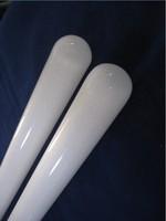 One end closed opaque quartz tube 40*3*350mm