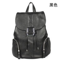 Women's backpack large capacity first layer of cowhide travel backpack female double-shoulder genuine leather