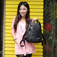 Female bags 2013 first layer of cowhide backpack women's handbag genuine leather backpack