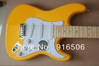 free shipping 2014 new wholesale strat  electric guitar with maple or rosewood fingerboard top quality electric guitar