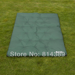 Outdoor sleeping mat pad bag for double person, sponge pad for outdoor activities, sleeping paded cushion(China (Mainland))