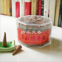 Cone incense pure sandalwood, natural environment-friendly raw materials, rich flavor free shipping!