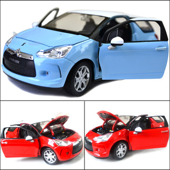 Welly wyly citroen ds3 exquisite alloy car model quality cars toy gift