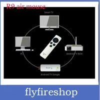 Free shipping RC9 Gyroscope Operation 2.4Ghz Wireless Air Mouse Remote Control For Android Smart TV Box Desktop Laptop Mini PC