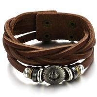 Fashion accessories bracelet male vintage bracelet genuine leather bracelet ph777