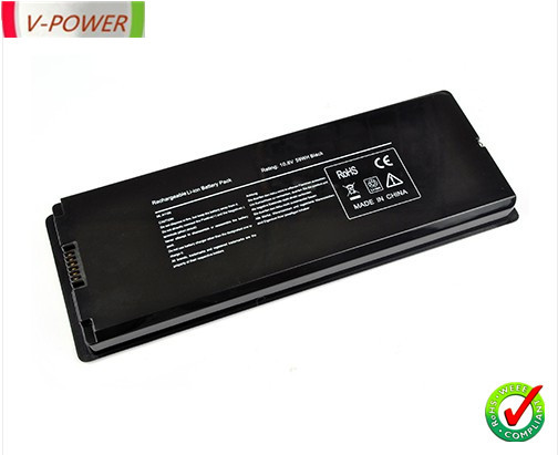 New Battery for Apple MacBook 13&quot; 13.3 Inch A1181 A1185 MA561 MA566 Laptop Black(China (Mainland))