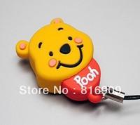 Wholesale Cartoon USB 2.0 Flash Disk 1GB-64GB High Speed Free Shipping