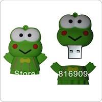 Wholesale Frog USB Flash Memory 1GB-64GB High Speed Free Shipping