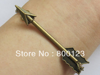 Antique Bronze Arrow Bracelet, Inspired by Katniss's Arrow Bracelet of  Alloy Chain-J010