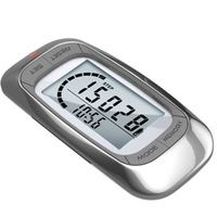 Free shippment 3D Sensor multi function pedometer with 7 day memory and clock Accelerometer sensor