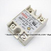 MANUFACTURER SSR-40DA solid state relay,40A single phase ssr FOTEK
