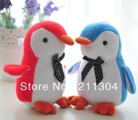 Free Shipping Plush Toy penguin super cute doll best gift to your girlfriend or kids(small size)