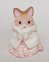 RARE! Sylvanian Families special editon pink dress cat Japanese version