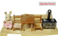 NEW Sylvanian Families Rabit Table Oven Set Japanese version