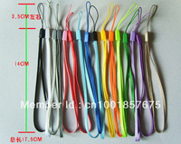 Freeshipping CPAM wrist hand cell phone mobile chain straps keychain Charm Cords DIY Lariat Lanyard MP3 MP4 1000pcs/lot