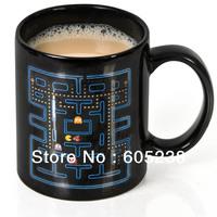 Pacman Ceramic Mug Pac-Man Heat Changing Mug -300ml
