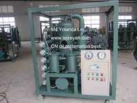 Double-Stage High Vacuum Transformer Oil Regeneration Equipment