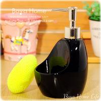 Free shipping Fashion ceramic bathroom wash station hand sanitizer bottle emulsion soap bottle detergent bottle