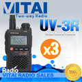 Big Sale! Small Walkie Talkie Baofeng UV-3R Handheld VHF UHF Dual Band Walkie Talkie