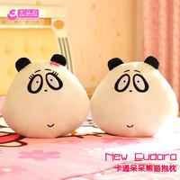 Dora big eyes plush toy lovers cushion pillow