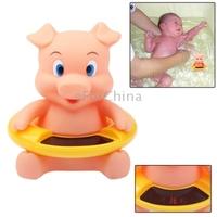 Cute Cartoon Pig Baby Bath Water Thermometer Temperature Meter 34 ~44 Centigrade