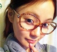 20pcs/LOT free shipping  Leopard grain bowknot glasses frame Tide men and women frames non-mainstream super light