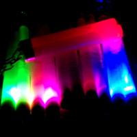 5 colorful luminous nunchakus neon nunchaku chromophous luminous two stick
