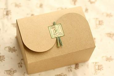 Buy plain kraft box elegant muffin packaging box cake gift boxes food
