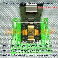 CH-QFP80-0.5 Programmer Adapter TQFP80 QFP80 14x14 12x12 Adapter IC51-0804-808 Adapter/IC SOCKET(Flip test seat)